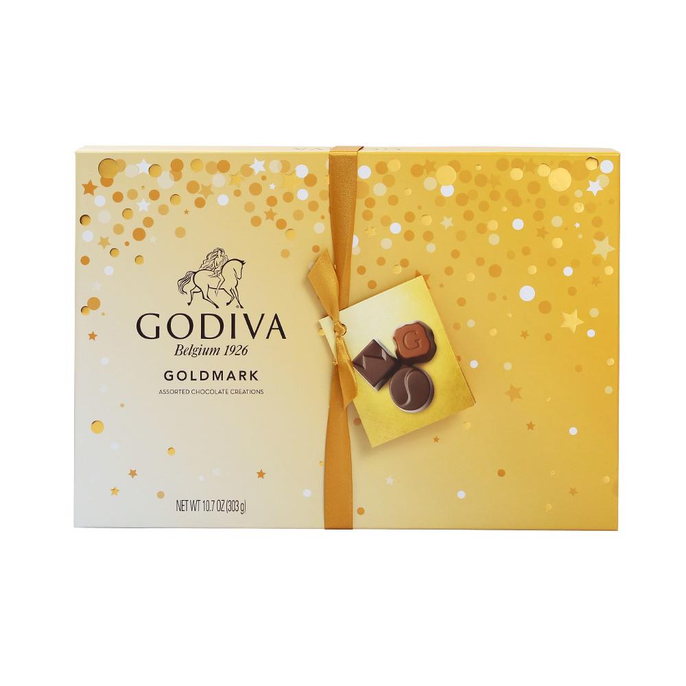 全球顶级巧克力、美国进口:27粒/303g礼盒装x2件 歌帝梵 夹心巧克力
