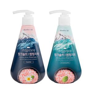 韩国原装进口 LG 竹盐 喜马拉雅粉盐派缤牙膏 285g*2瓶 主图