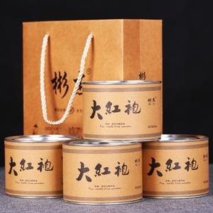 新茶春茶福建武夷山大红袍茶叶岩茶乌龙茶浓香碳焙耐泡4罐240g