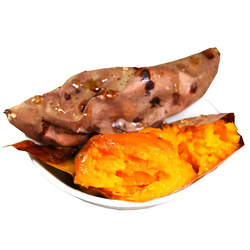 【逗嘴鼠_蜜薯】新鲜红心番薯沙地农家富硒地瓜烤山芋烟薯25号5斤