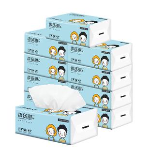 【香乐雅】原木抽纸100抽*10包