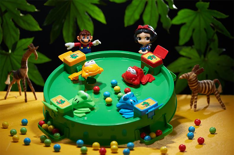 【抖音同款】大人小孩都爱玩的青蛙吃豆盘 4