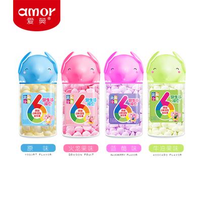 4瓶装 北鼻小象22g益生菌酸奶溶豆婴儿6个月宝宝零食高蛋白无添加