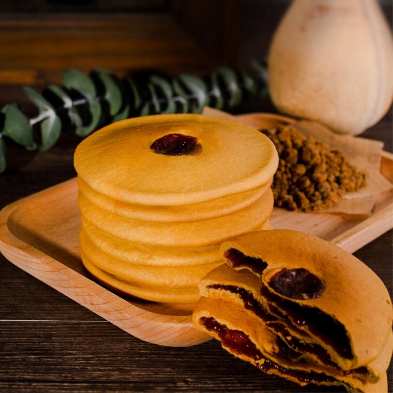 红糖肚脐饼网红潮汕特产双炉饼网红手工饼糕点铜锣烧200g零食吃xr