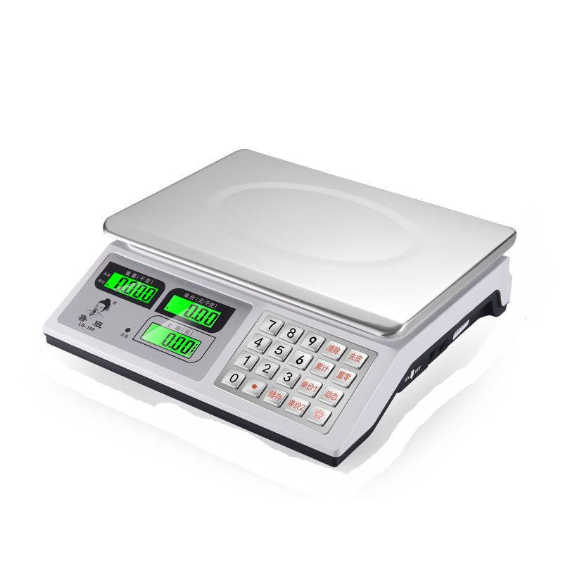 电子秤←商用家用30kg计价称●重器厨房卖菜称克数的称高精度台秤