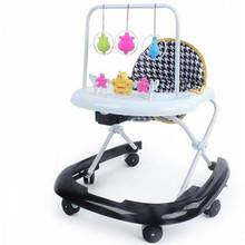 婴儿童宝宝助步学步车防侧翻多功能车带音乐