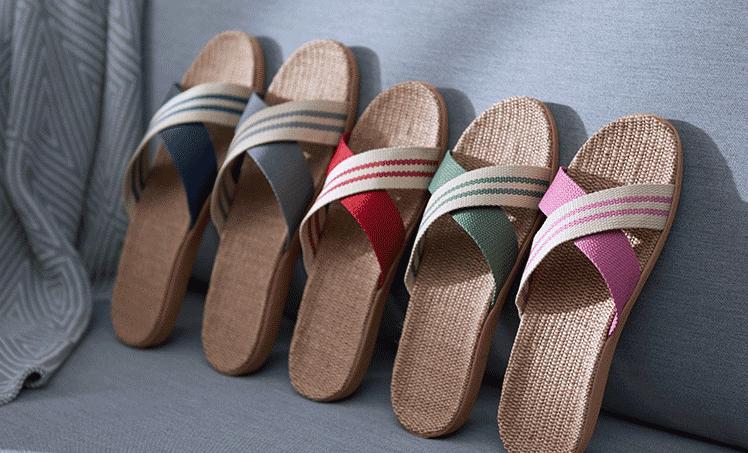 舒适居家拖鞋,在家就要穿得自在