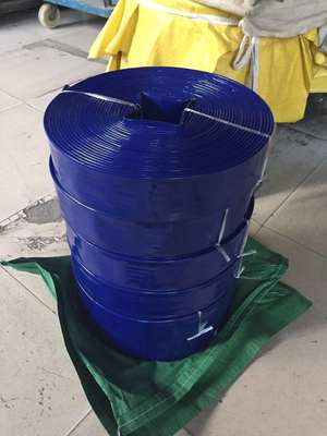 Hose anti-aging hose 2 inch 3 inch 5 inch 6 inch 7 inch 8 inch mud blue water with plastic coated with high pressure explosion-proof water pipe