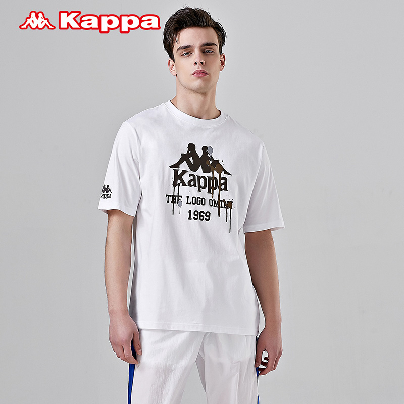 Kappa卡帕男款休闲短袖运动T恤夏季半袖2019款|K0912TD37D