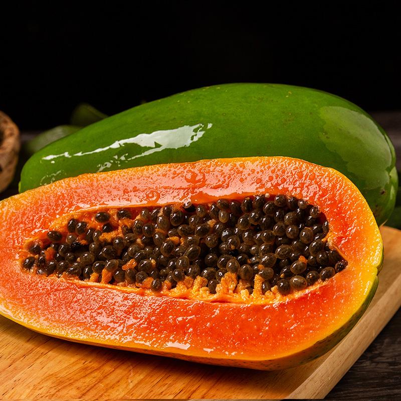 云南红心木瓜水果新鲜包邮带箱11斤冰糖心木瓜当季树上熟青木瓜