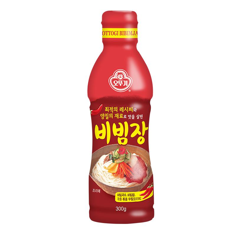 不倒翁进口拌酱韩式拌饭酱甜辣酱300g