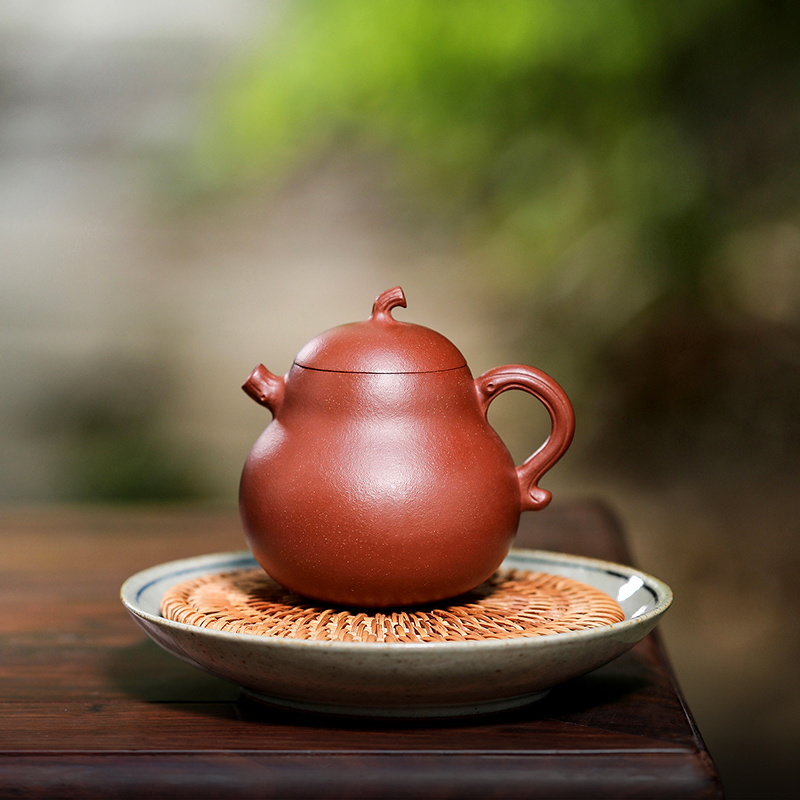 Kettle Hui Yixing purple sand pot teapot tea set slope mud pure hand-made flower machine Lu Junjie high-thui works