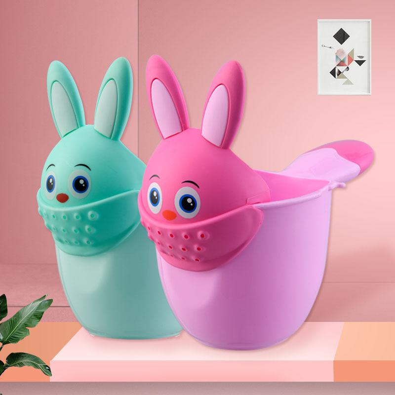 宝宝洗头杯花洒婴儿水瓢勺儿童洗澡瓢洗手神器舀水勺水龙头延伸器