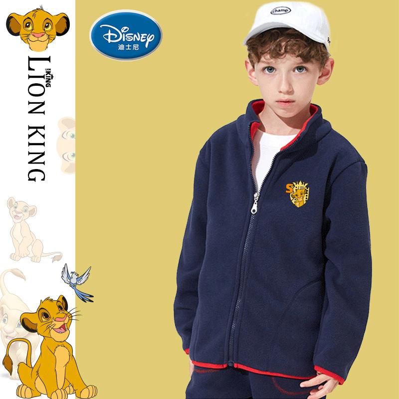 【迪士尼】男童摇粒绒外套 券后价49.9元包邮