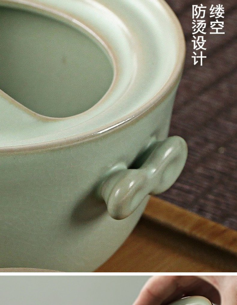 Continuous grain of your up crack cup a pot of 2 cup powder blue on your porcelain portable travel a pot of a cup of tea