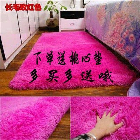 卧室包邮加厚水洗可长毛卧室特价床边地垫榻榻米地毯客厅满铺新款