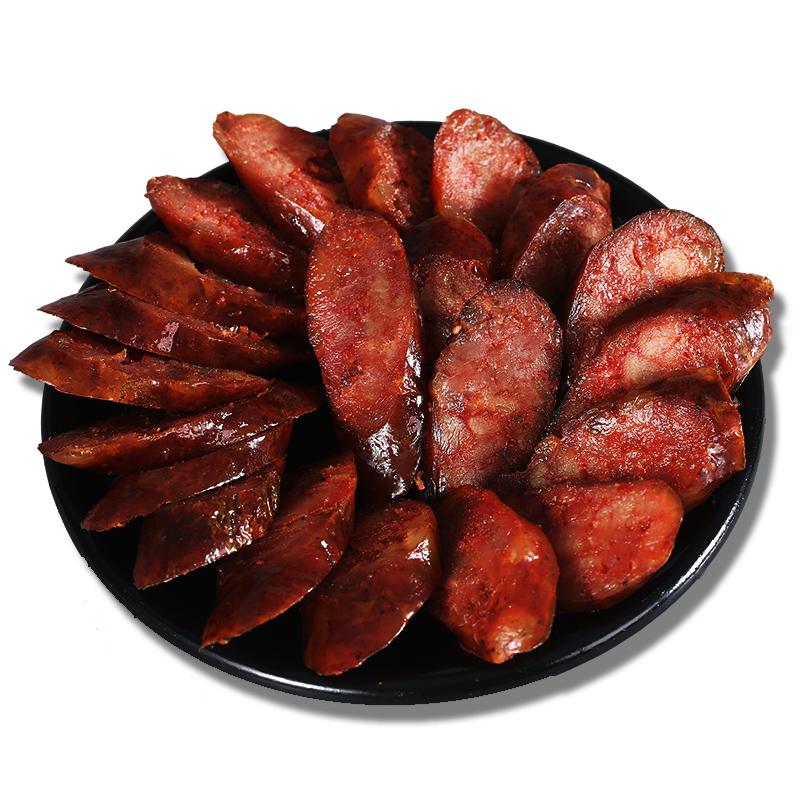蜀腊记腊肠四川特产 麻辣香肠500g农家自制手工烟熏风干烤肠腊肉