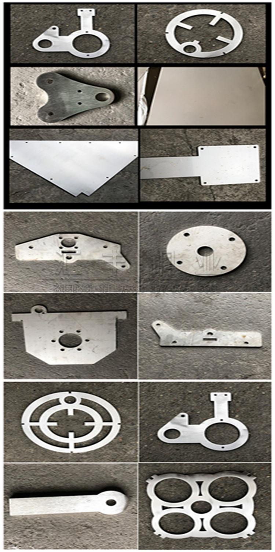 不锈钢板激光切割不锈钢板折弯钣金铁板主机壳加工详细照片