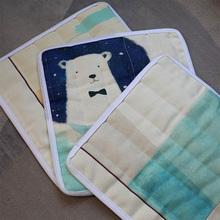 餐桌椅子餐棉麻垫子四季