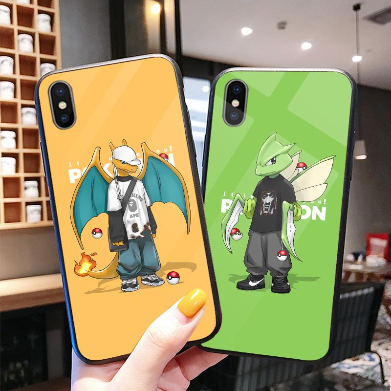 【全型号】新款潮流卡通情侣手机壳