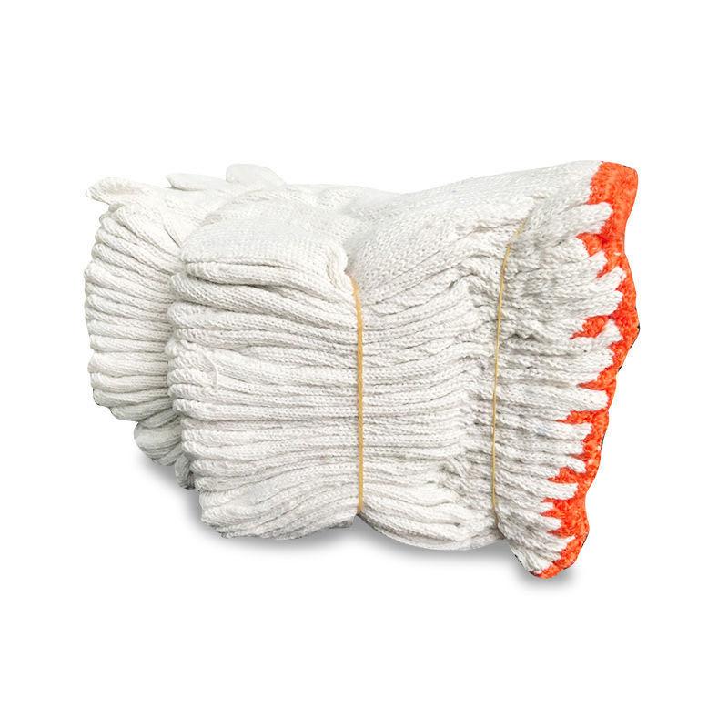居家日用线手套24双60双棉线手套劳保工