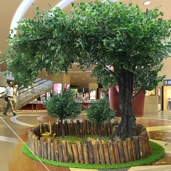Моделирование Баньян дерево крупномасштабный моделирование завод отели желая дерево Большой зал свадьба инжиниринг комнатный ландшафтный дизайн декоративный, цена 1396 руб