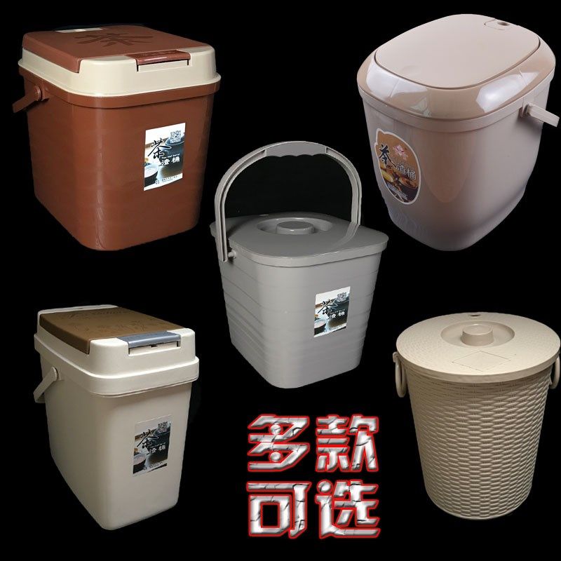 .Office household tea slag bucket tea tray tea bucket size plastic drainage waste water bucket tea garbage