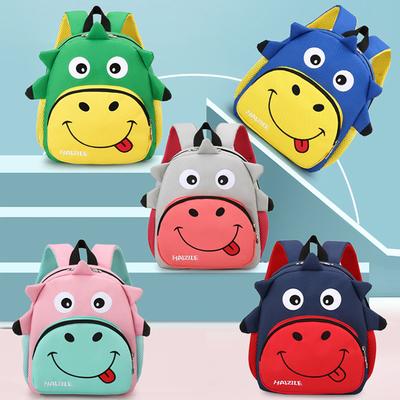 儿童书包2021新款男童卡通小背包宝宝幼儿园书包可爱女童双肩包轻
