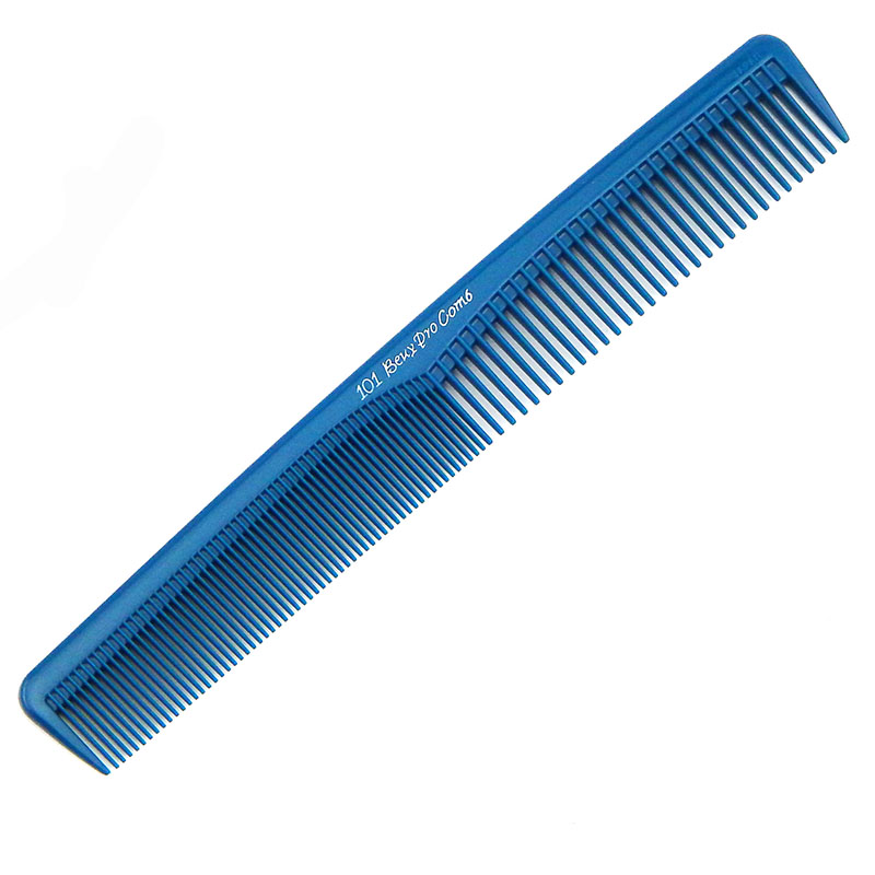 Anti-static imported straightening comb Wide tooth dense tooth double-sided cutting comb Hair stylist hair comb cut hair salon special