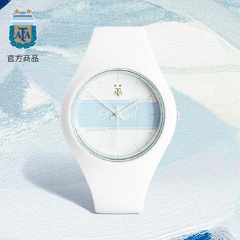 Товары для фанатов,  Аргентина сборной официальный товар шу силиконовый движение наручные часы новый модный для досуга запястье стол месси вентилятор подарок, цена 2453 руб