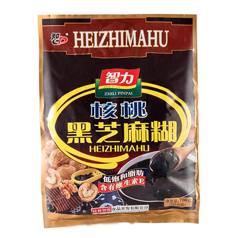 智力核桃红枣黑芝麻糊含糖甜即食营养早餐健康冲饮代餐食品小袋装