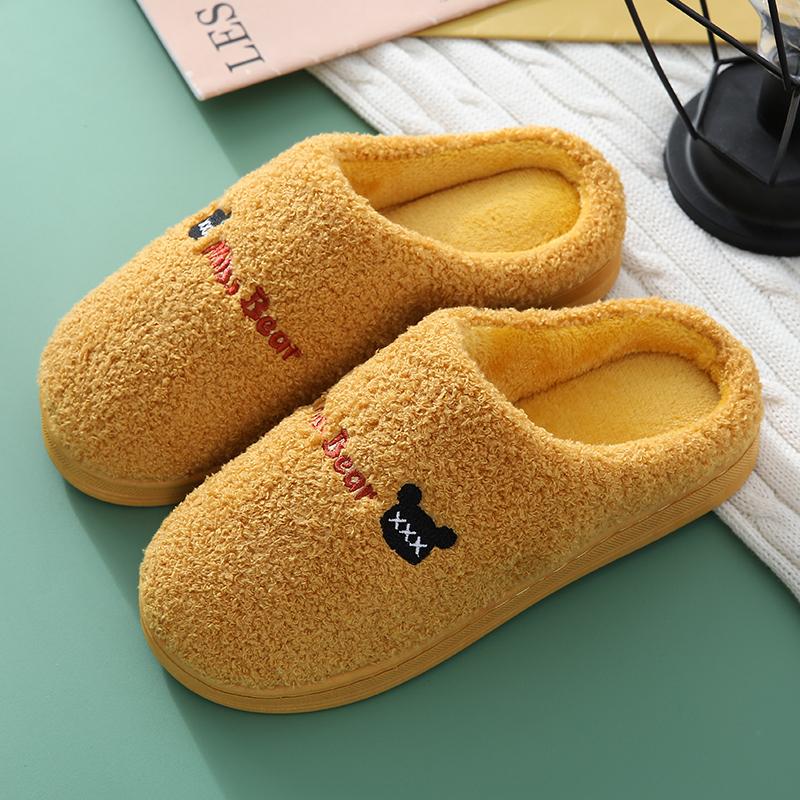 【双12特卖】居家厚底防滑棉拖鞋月子鞋