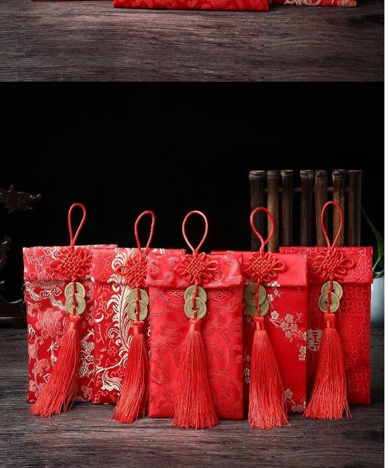 红包塞门单个生日金色过年送礼名字领取2019年新年a红包创意女童8