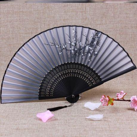 | Цена 498 руб | , большой размер декоративный ткань кружево милый ежедневно портативный личность черный творческий мисс перо веер сложить вентилятор древний