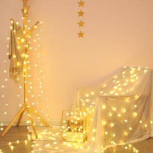 星星灯饰网红房间卧室宿舍装饰灯布置少女心小彩灯闪灯串灯满天星