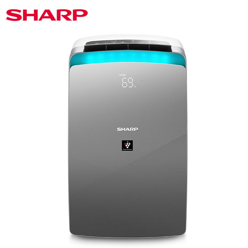 夏普除湿机家用小型大功率静音地下室静音空气净化器杀菌抽湿机