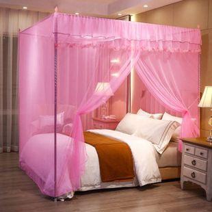 连锁纹蚊帐家用1.8米双人床1.5米1.
