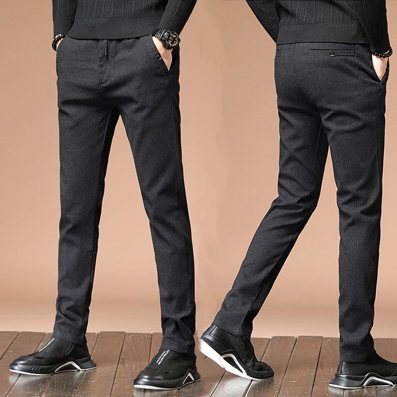 男士春秋商务西裤直筒裤休闲裤男裤