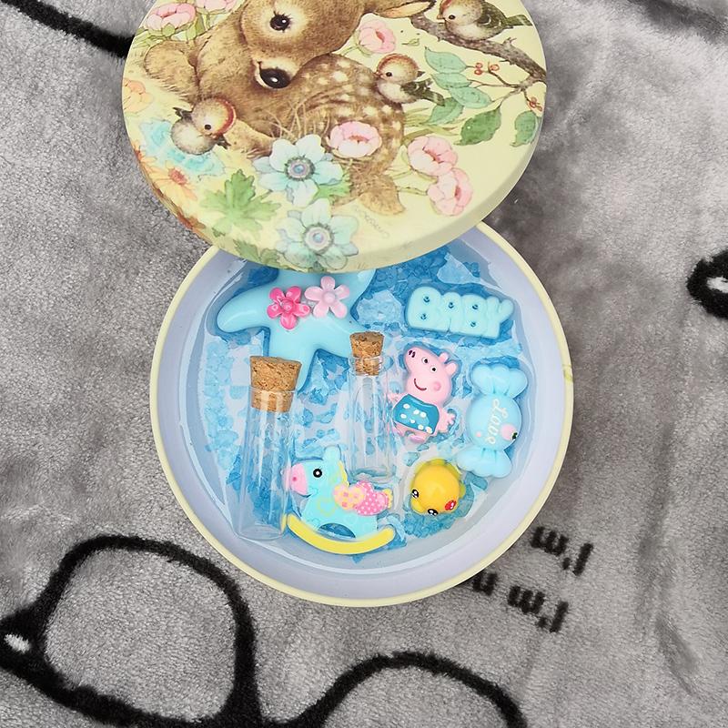 Em bé sơ sinh thai lưu niệm tự làm thủ công tự làm cho em bé hộp tóc thai nhi chó bé rốn dây bộ sưu tập - Quà lưu niệm cho bé / Sản phẩm cá nhân
