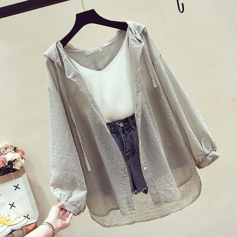 雪纺防晒衣女韩版新款夏季短款外搭开衫外套