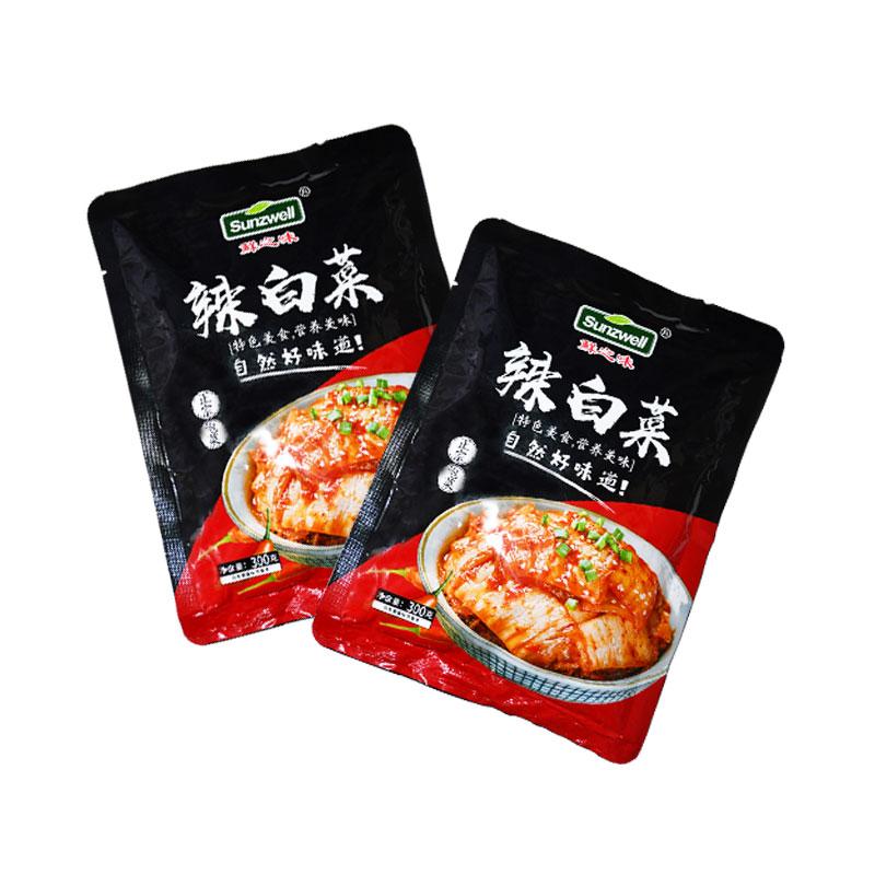 【惠丰食品】韩国东北朝鲜腌制菜包邮鲜之味辣白菜300g好吃美味