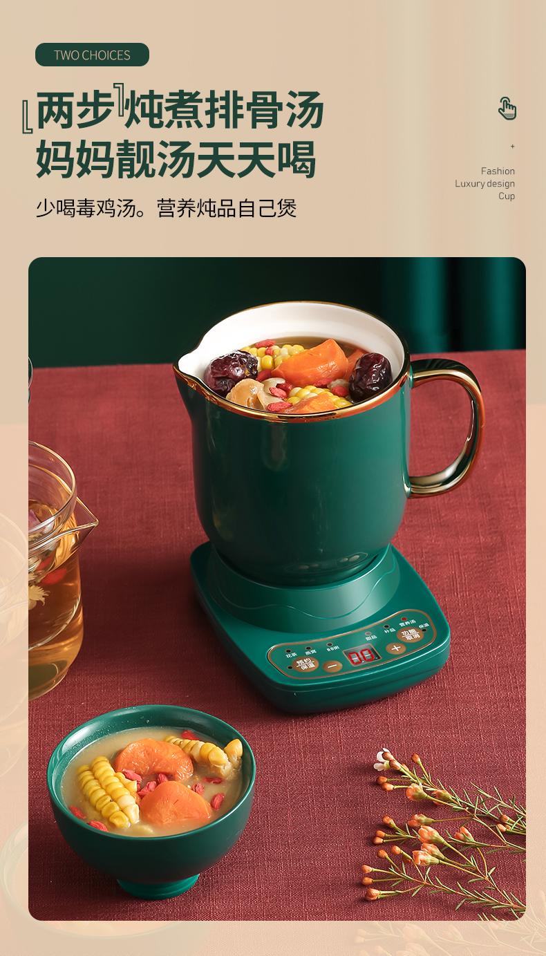 花茶养生壶小泡茶炉办公室快煮壶煮茶壶小型玻璃壶器多功能专用详细照片