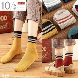 Net red socks children? Super fire socks Chinese stockings INS Tide wild Korean net red coffee color socks pile of stockings