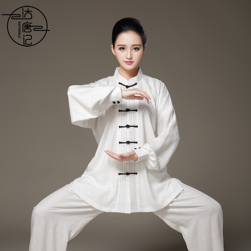 Tai chi clothing kung fu uniforms Women spring and summer men Taijiquan training clothes martial arts clothes