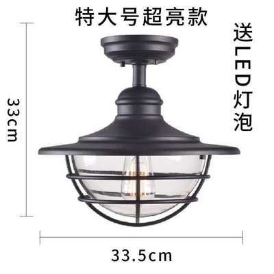 Ceiling lamp for gla...