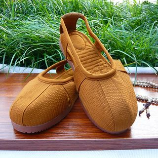 Monk Lohan shoes, beef tendon bottom Taiwan shoes, monk clothes, monk shoes, Buddhist supplies, summer men and women
