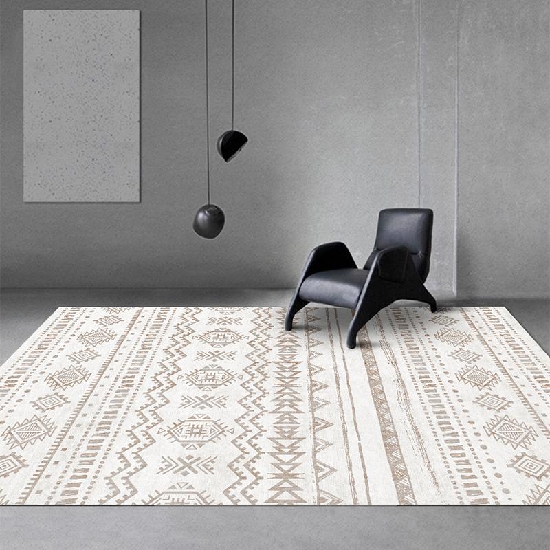 ins北欧地毯客厅现代简约卧室沙发床边地垫/摩洛哥风满铺家用定制