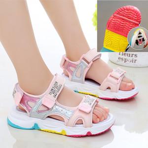 儿童女童凉鞋沙滩软底夏季新款小女孩