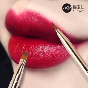 唇刷口红笔刷伸缩便携小化妆刷唇笔唇线笔女化妆师专用唇笔刷迷你