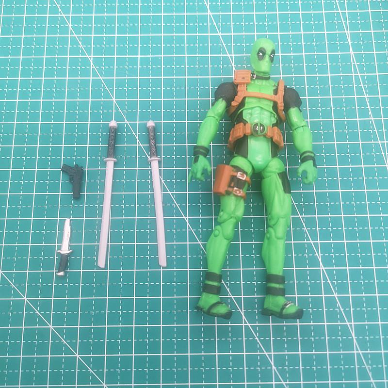 现货 dc 漫威复仇者联盟模 型公仔摆件玩具 死侍 3.75寸 可动人偶